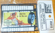"Tichy Train Group #8415 General Tire (Billboard Kit) ""Safest Tire Under the Sun"""