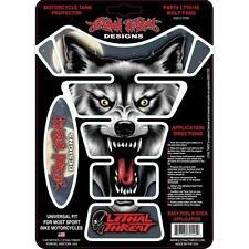 Lethal Threat Tankpad Protector De Tanque Moto Bicicleta Wolf Fang LT70145