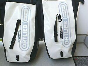 ORTLIEB Waterproof Fahrrad-Gepäcktaschen  2 x