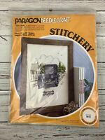 Paragon Needlecraft Model T Ford Crewel Embroidery Kit Tin Lizzie Stitchery 0813