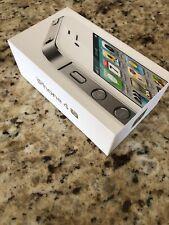 Apple iPhone 4S WHITE 64GB Empty Box Only BONUS Original Earphones Wall Charger