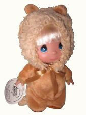 """Precious Moments 5.5"""" Leo The Lion Mini Moments Call of the Wild Doll New"""