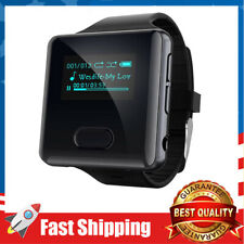 Clip MP3 Player with Bluetooth Watch with FM Radio Pedometer Vioce Recorder
