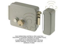 Yale serratura elettrica per cancelli mano sx scatola mm 130 x 105 entrata 70 mm