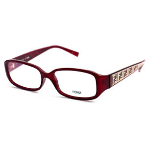 Fendi Eyeglasses Women Red Frames Oval 53 15 130 F983 604 Oval