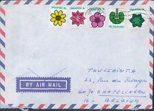 SINGAPORE cover to Belgium 1975