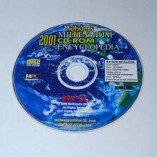 Multimedia 2000 Webster's Millennium 2001 Cd-Rom Encyclopedia