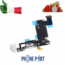 CONNETTORE RICARICA CARICA IPHONE 6S PLUS BIANCO MICROFONO JACK FLEX DOCK 5,5