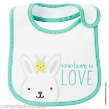 Carter's Just One You Somebunny to Love Bib and Bunny Cap New!