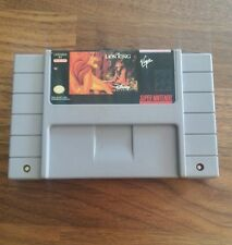 SUPER NINTENDO SNES THE LION KING GAME CARTRIDGE ONLY