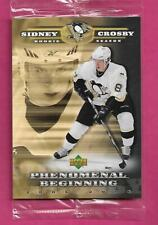 2005-06 UPD # SC1 PENGUINS SYDNEY CROSBY PHENOMENAL BEGINNING JUMBO (INV# C1009)