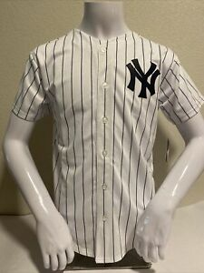 New York Yankees Jersey Youth Large 14/16 MLB Genuine Merchandise NWT $55