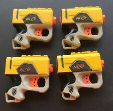 Nerf 4 Reflex IX-1 Toy Guns External Single Fire Hasbro Yellow