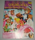 VINTAGE COLOR BY NUMBER GOLDILOCKS & THE THREE BEARS-EXCELLENT-NO COLORING IN IT