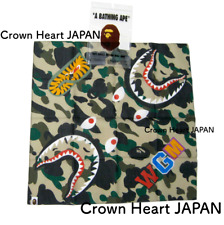 New A BATHING APE 1ST CAMO SHARK BANDANA Yellow Authentic from BAPE Japan