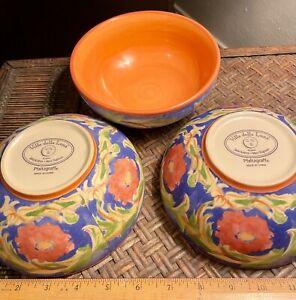 Pfaltzgraff Villa Della Luna cereal bowls set of 3