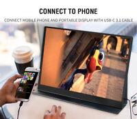 Tragbar Eyoyo 15.6 Inch Touch Screen IPS Moniter 3840X2160 4K HDR Für PC sony