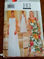 Butterick 4928 wedding casual dress occasion vintage 1997 size 14,16,18