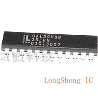 5PCS GAL20V8B-25LPN  programmable logic device directly inserted into DIP-24 new