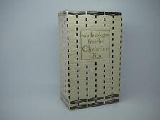 * Vintage 4 fl. OZ (approx. 118.29 ml) Christian Dior Eau De Cologne Fraiche * 1950s o 1960s Nuevo Y En Caja