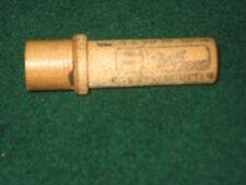 Vintage Wooden needle Container Boye Needle Co, with 1 needle