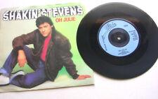 "SHAKIN' STEVENS 'OH JULIE' 1981 7"" PICTURE SLEEVE SINGLE EX"