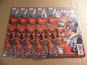 Alpha Flight #10 (Marvel 2005) Lot of 5 issues / Free Domestic Shipping