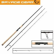 Savage Gear Custom Coastal Spin 320cm 10-36g, Meerforellenrute zum Blinkern