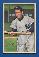 1952 Bowman # 52 Phil Rizzuto HOF  New York Yankees - EX - Additional ship free