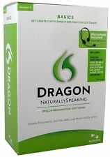 Dragon Naturally Speaking Speech Recognition Software Version 11