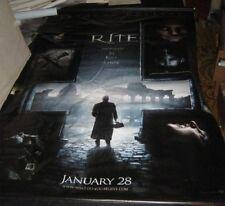 "Original THE RITE Huge Vinyl Banner 60"" x 96"" Anthony Hopkins Colin O'Donoghue"
