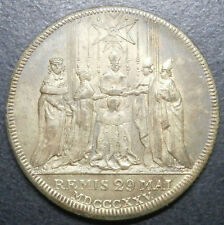 Medallón de Francia-Charles X Remis 29 Mai Mdcccxxv (1825) - Latón 26.7mm