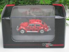 High Speed 1/87 Diecast Volkswagen VW Kafer Beetle (Ladybird) Classics Car(5cm)