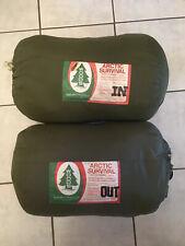Woods Arctic Survival Modular Down Sleeping Bag Set