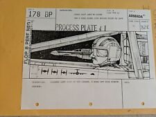 Star Wars Original I.L.M. Story Board - Production Used Prop