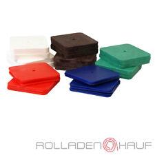 250 Kunststoff Unterlegplatten Ausgleichsplatten 70x70 Niveauausgleich Distanz