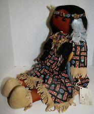 Original Hand Made Cherokee Stuffed Doll.