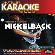 Karaoke Gold: Songs in the Style of Nickelback [CD]