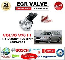 FOR VOLVO V70 III 1.6 D 80kW 109-BHP 2009-2011 EGR VALVE 5PIN with GASKETS/SEALS