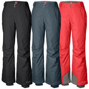 "New Womens Columbia ""Bugaboo"" Omni-Heat Insulated Waterproof Winter Snow Pants"