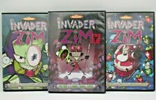 Invader Zim Vol 1, 2, 3 on DVD - Mint Discs No Scratches (Missing 1 Disc)