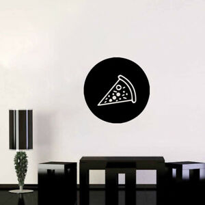 Pizza Food Hamburger Restaurant Menu Holiday Wall Sticker Vinyl Decor NN2500