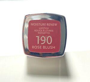 New Rimmel London Moisture Renew Lipsticks #190 Rose Blush
