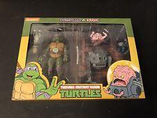 NECA Teenage Mutant Ninja Turtles Donatello vs Krang 2-Pack TMNT Target