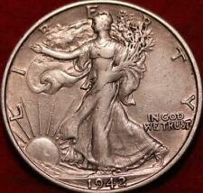 1942-S San Francisco Mint Silver Walking Liberty Half
