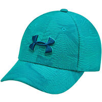 Under Armour Printed Blitzing 3.0 Fitted Casual Baseball Cap Hat - Aqua - XS/S