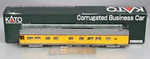 "Kato 35-6007 HO Scale Union Pacific ""Cheyenne"" Corrugated Business Car LN/Box"