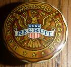 WW1 Vintage US Boys Working Reserve Recruit Lapel Button ~ VGC ~ RARE