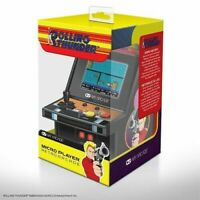 "CONSOLE MINI CABINATO RETRO MY ARCADE PLAYER ROLLING THUNDER 6"" NUOVO ORIGINALE"