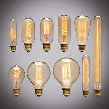 E27 40W Vintage LED Edison Bulb Filament Light Home Deco Warm White 220V Lamp